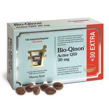 Load image into Gallery viewer, Bio-Qinon Active 30mg 180 kapselia