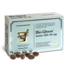 Load image into Gallery viewer, Bio-Qinon Active 30mg 150 kapselia