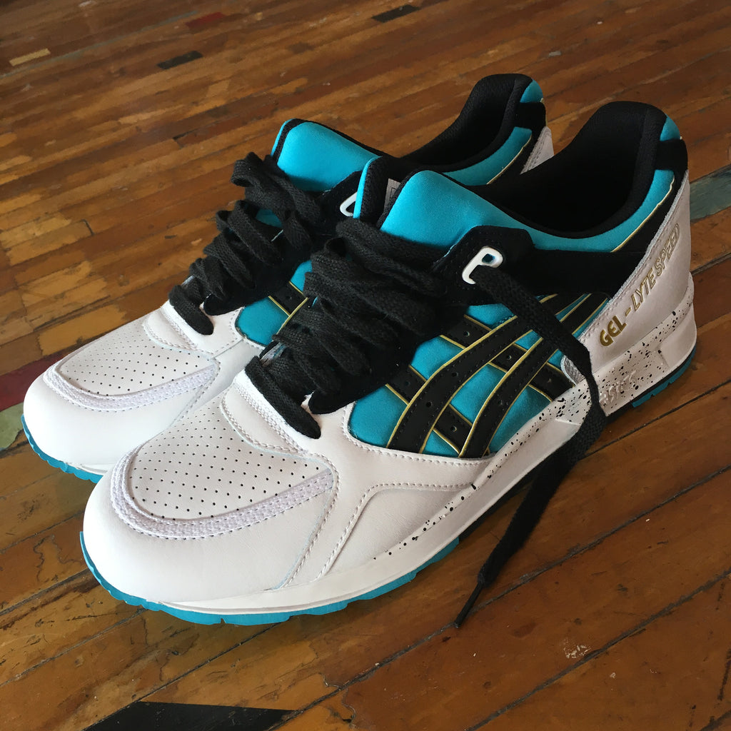"Asics Gel-Lyte Speed (Peacock Blue/Black) ""Vancouver Grizzlies"" - Epocha Shoe Gallery"