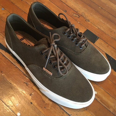 Vans Era Decon CA Raw Suede (Black)