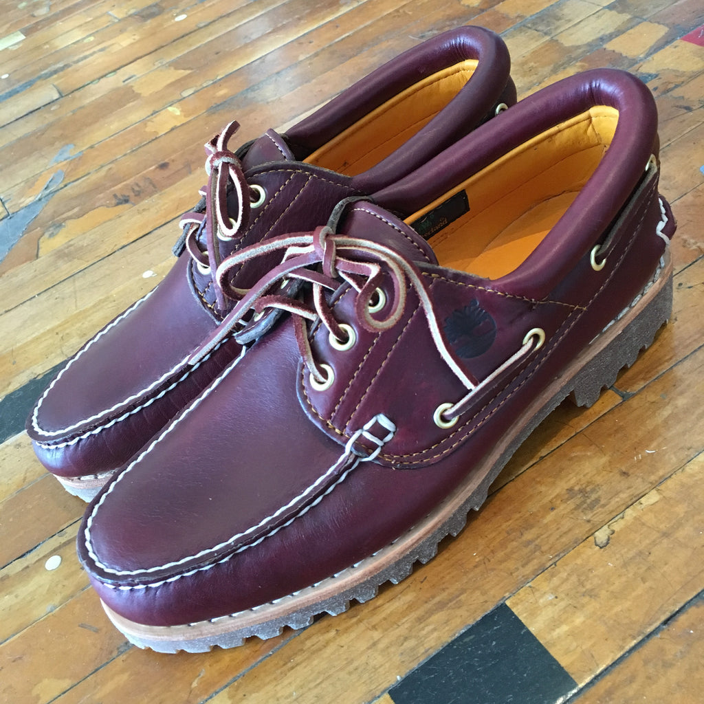 Timberland 3 Eye Lug (Burgundy) - Epocha Shoe Gallery