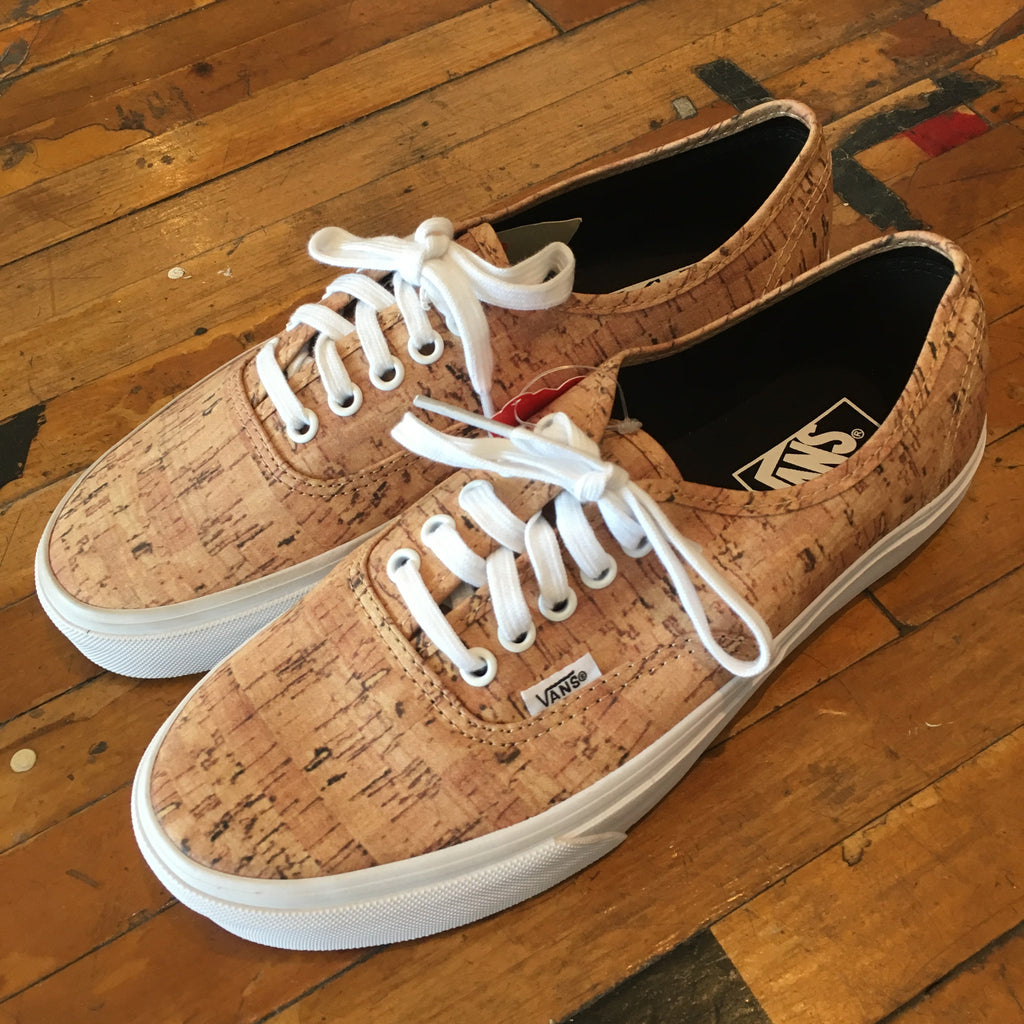 Vans Authentic Cork (Tan/True White) - Epocha Shoe Gallery