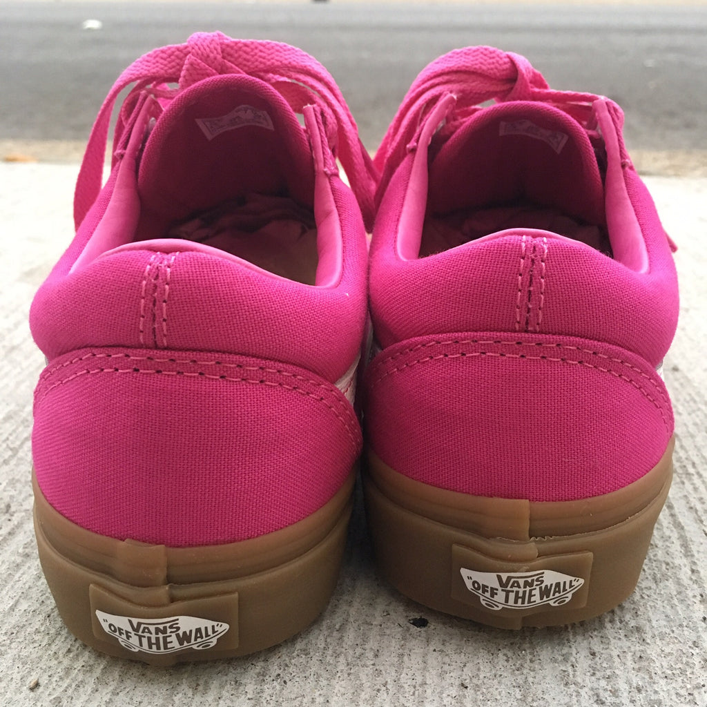 "Vans WOMENS Old Skool ""Light Gum (Raspberry Rose) - Epocha Shoe Gallery"