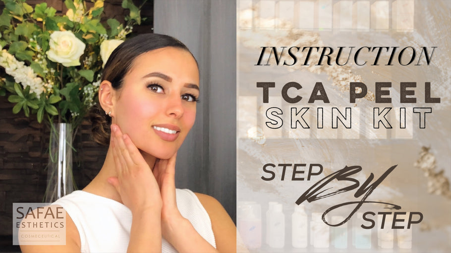 INSTRUCTION TCA PEEL SKIN KIT