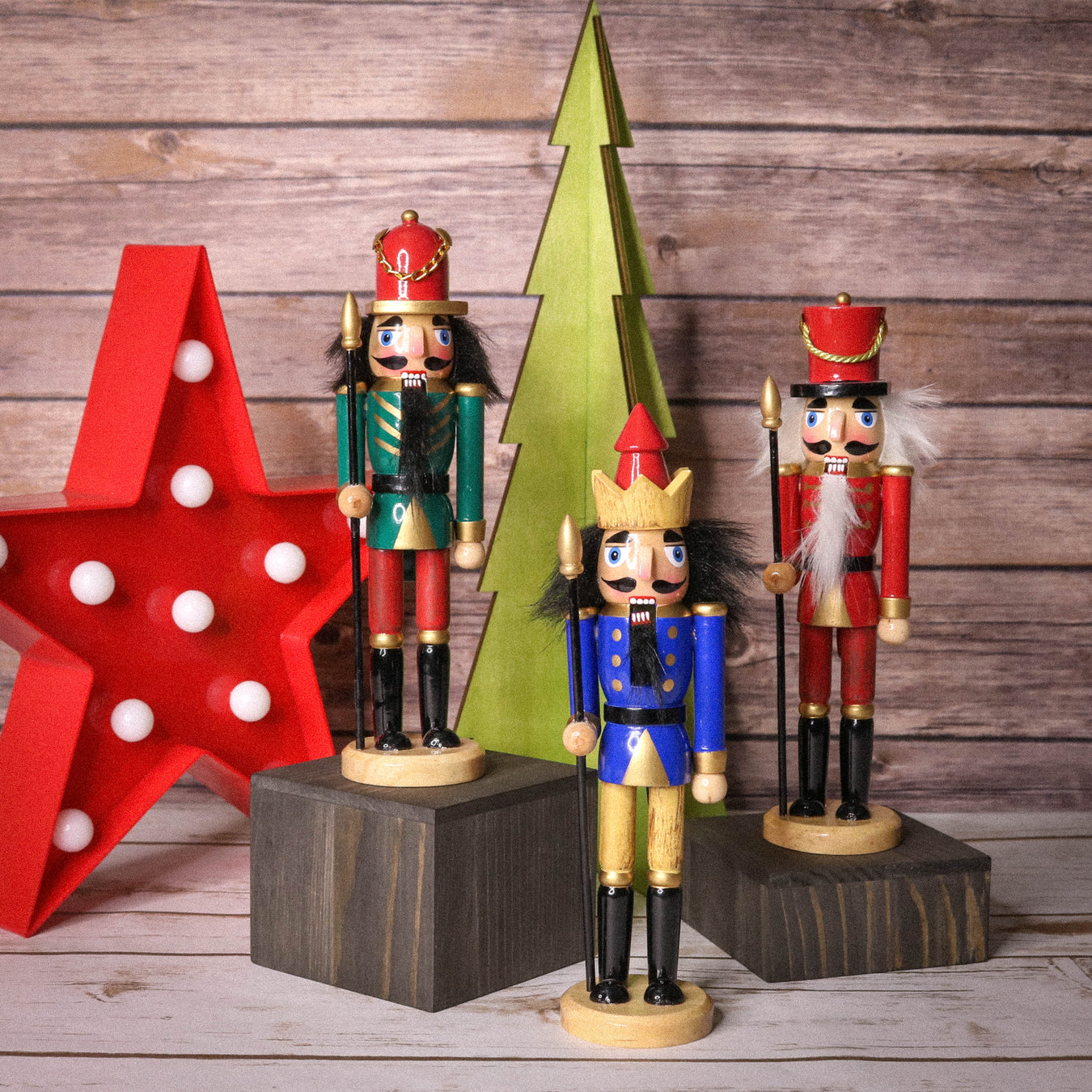 Christmas and Nutcracker Themed ornaments for decorating