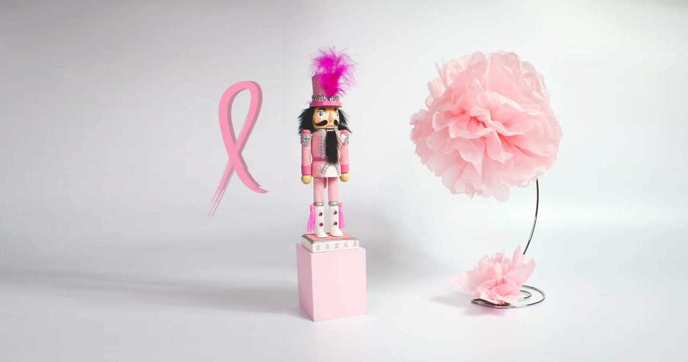 Breast Cancer Awareness Nutcrackers