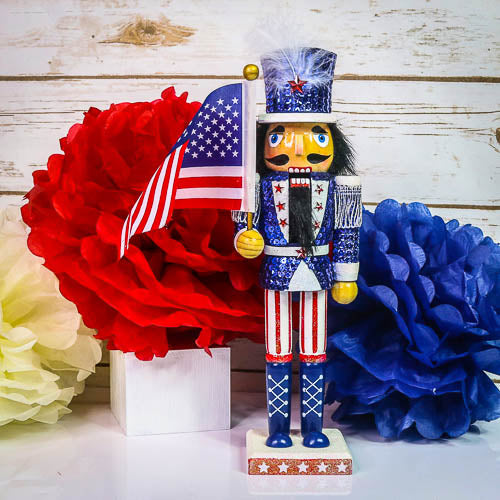 Patriotic Nutcracker