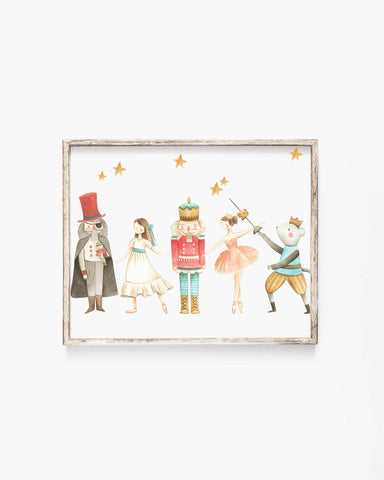Nutcracker Story Christmas Illustration