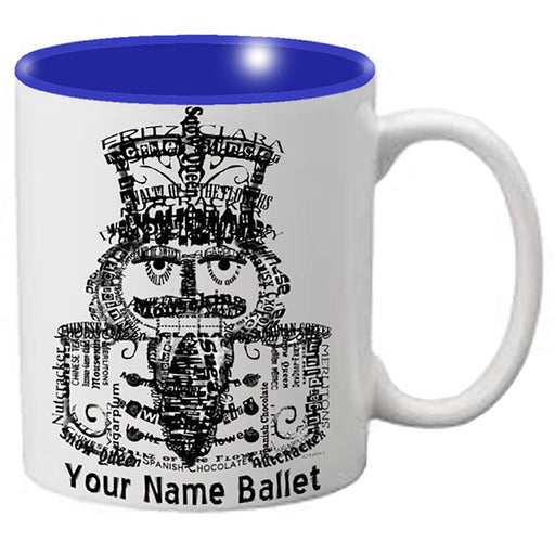 Nutcracker Ballet Mug - All Words Nutcracker - Nutcracker Ballet Gifts
