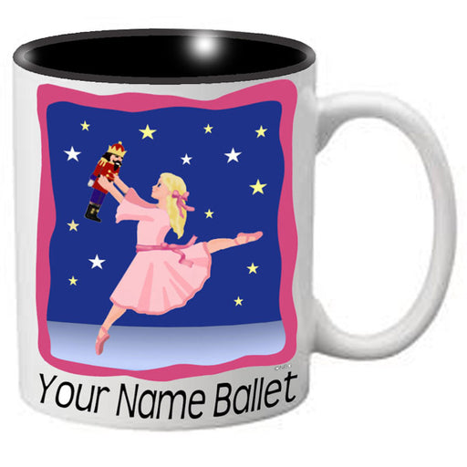 Nutcracker Ballet Mug - Dancer with Stars - Nutcracker Ballet Gifts