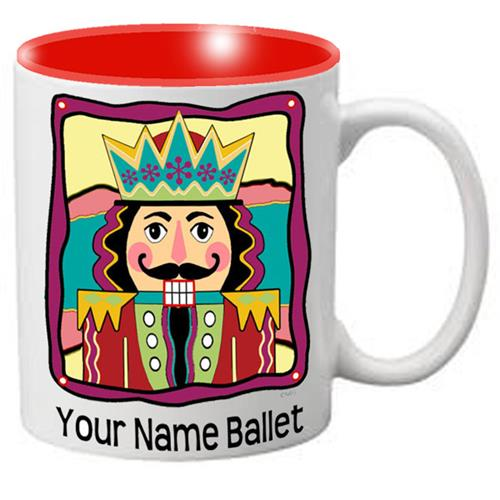 Nutcracker Ballet Mug - Colorful fun Nutcracker - Nutcracker Ballet Gifts