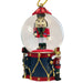 Mini Nutcracker Soldier on Drum Snow Globe Ornament - Nutcracker Ballet Gifts