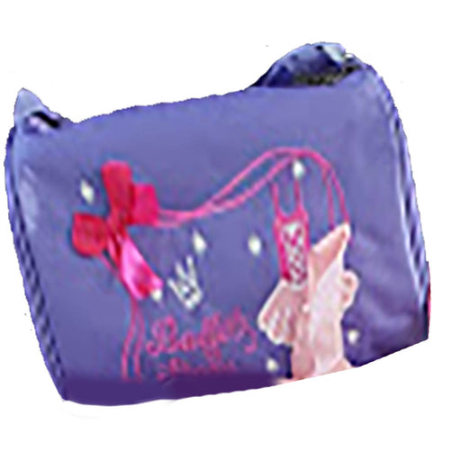 Purple Dance Duffel with Pink Bow - Nutcracker Ballet Gifts