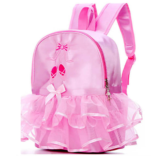 Pink Ballet Shoes with Lace Backpack - Nutcracker Ballet Gifts