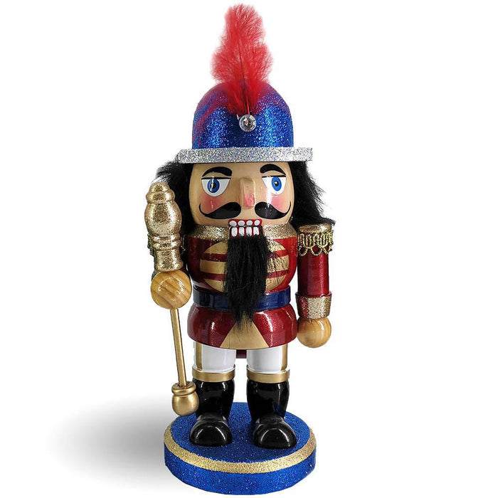 Chubby Cute Christmas Nutcracker Soldier in Blue - Nutcracker Ballet Gifts