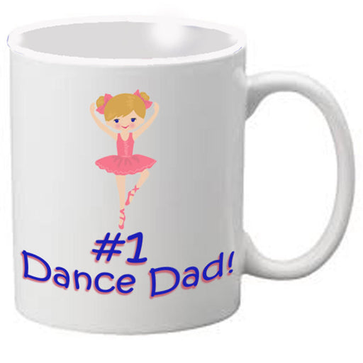 Nutcracker Ballet Mug - Dad1- Father's Day Mug #1 Dad - Nutcracker Ballet Gifts