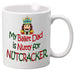 Nutcracker Ballet Mug - DadNutty - Father's Day Mug with Nutcracker - Nutcracker Ballet Gifts