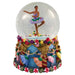 Musical African American Waltz of the Flowers Snow Globe-Nutcracker Ballet Gifts
