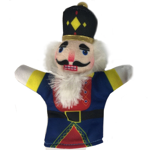 Plush Nutcracker Finger Puppet For Kids - Nutcracker Ballet Gifts