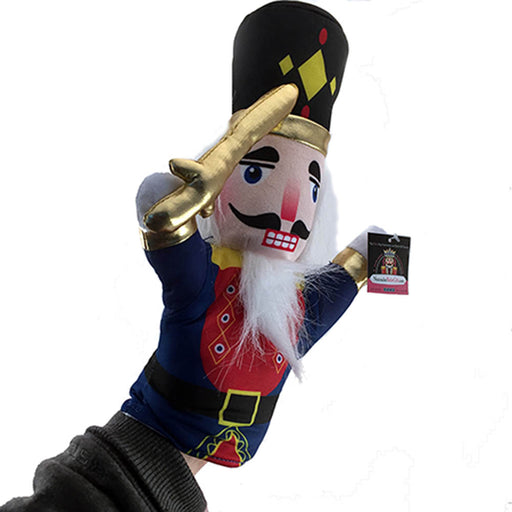Plush Soldier and Mouse King Hand Puppet Nutcracker Set of 2 - Nutcracker Ballet Gifts
