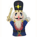 Plush Hand Puppet Nutcracker in Soldier Blues 11 inch - Nutcracker Ballet Gifts