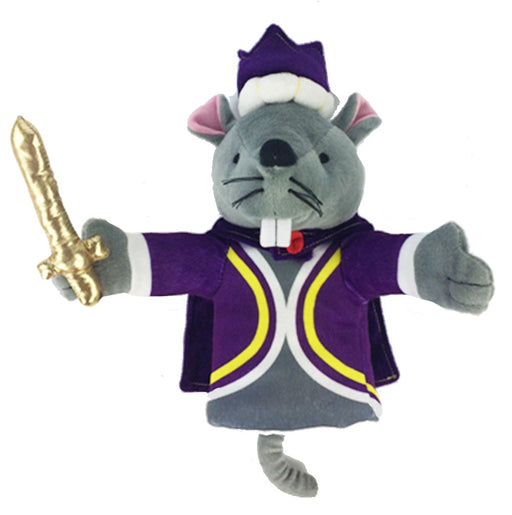Plush Mouse King Hand Puppet Doll 11 inch - Nutcracker Ballet Gifts