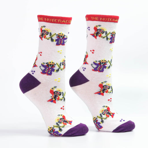 Nutcracker and Mouse King Fight Scene Light Weight Sock - Nutcracker Ballet Gifts