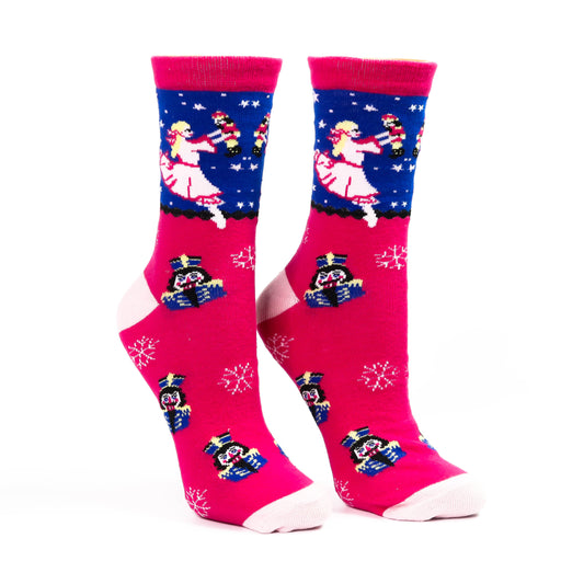 Dreaming Clara and Her Nutcracker Light Weight Sock - Nutcracker Ballet Gifts