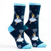 Snow Scene Dancers The Nutcracker Light Weight Sock - Nutcracker Ballet Gifts