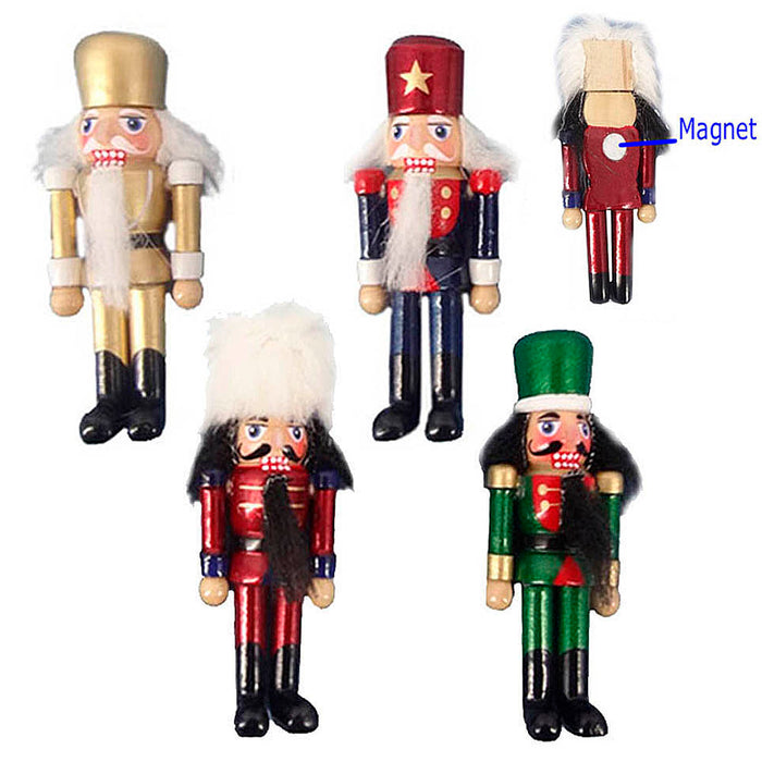 MAGN1-4 Nutcracker Magnets (One Dozen Assorted) - Nutcracker Ballet Gifts