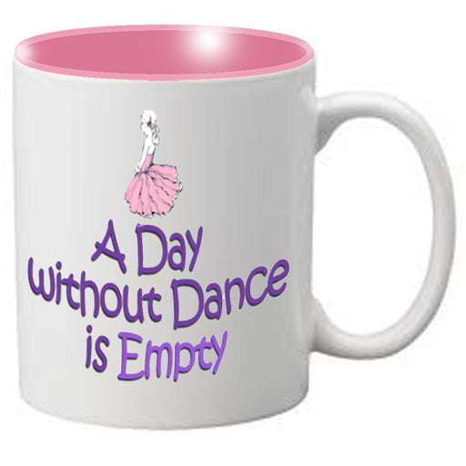 Nutcracker Ballet Mug  Life is empty without dance - Nutcracker Ballet Gifts