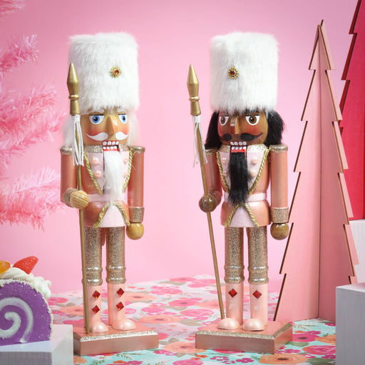 Nutcracker Soldier Rose Gold Christmas - Nutcracker Ballet Gifts