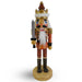 Woodsman Soldier Nutcracker Wood Grain with Sword 10 inch - Nutcracker Ballet Gifts