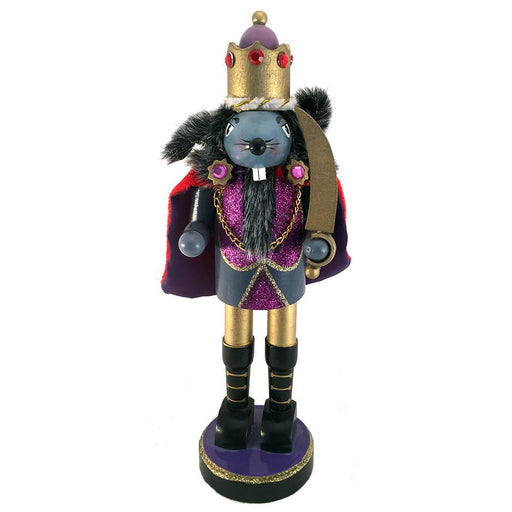 Mouse King Nutcracker with Cape and Sword 10 inch - Nutcracker Ballet Gifts