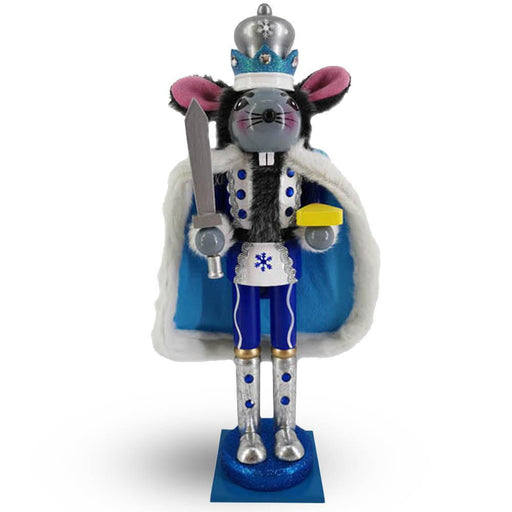 Mouse King Nutcracker in Blue and White - Nutcracker Ballet Gifts