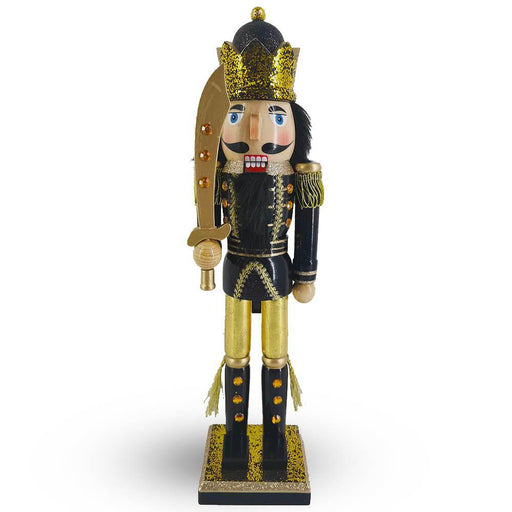 Black and Gold Christmas Nutcracker King - Nutcracker Ballet Gifts