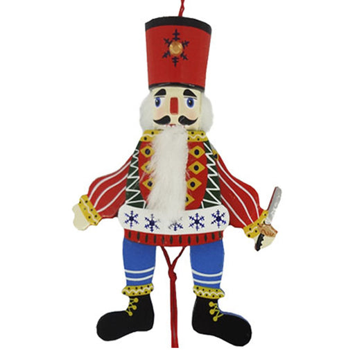 Russian Land of Sweets Pull Puppet Ornament 6 inch - Nutcracker Ballet Gifts