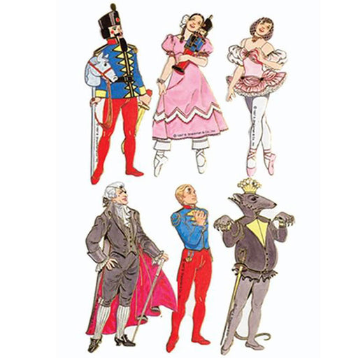 Nutcracker Ballet ACT 1 Cardboard Ornaments - Nutcracker Ballet Gifts