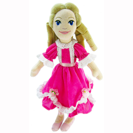 Plush Clara Doll in Pink Dress 12 inch - Nutcracker Ballet Gifts