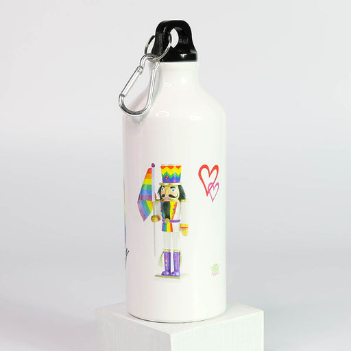 Pride Love Freedom Equality Sports Bottle - Nutcracker Ballet Gifts