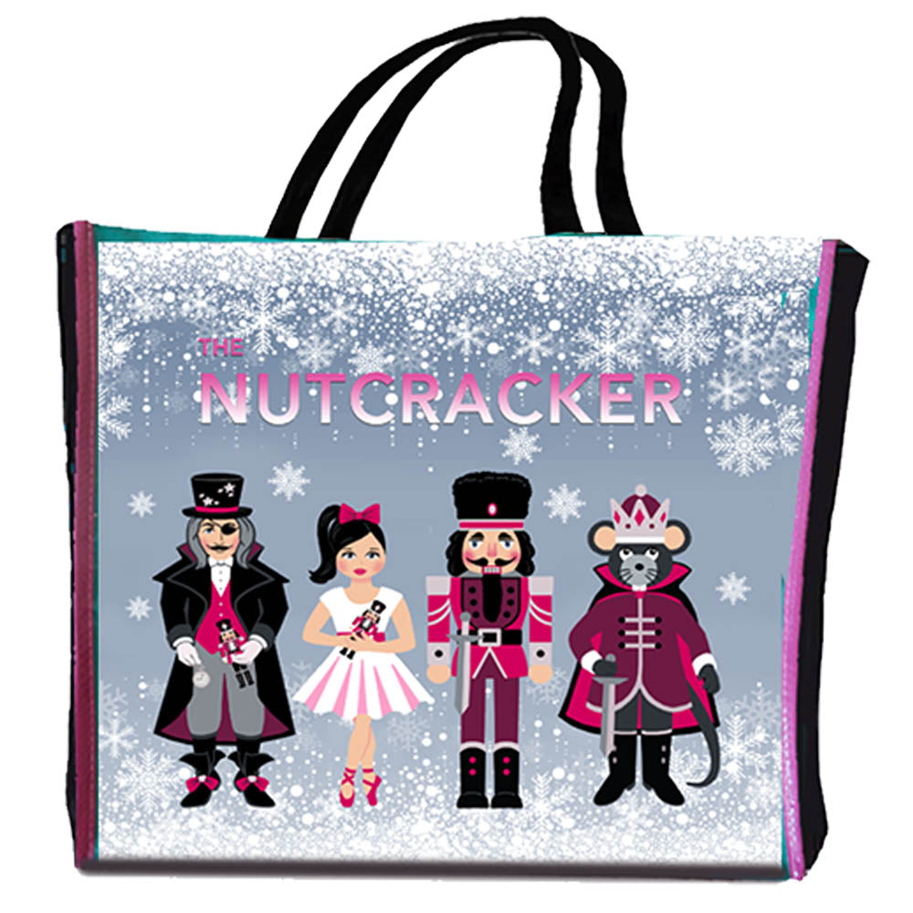 Drawstring Backpack Nutcracker Dance Christmas Gifts Bags
