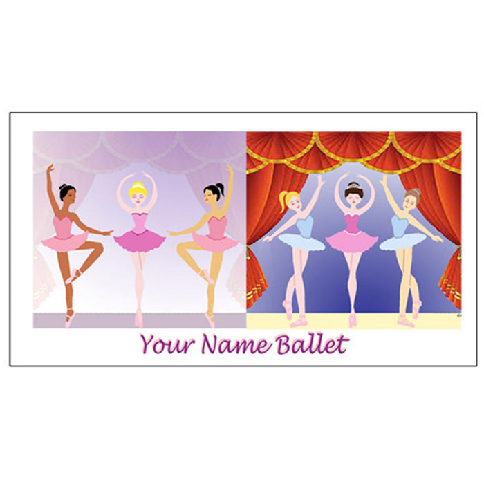 SB112 Ballerinas on stage - Nutcracker Ballet Gifts