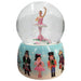Musical Sugar Plum and Nutcracker Snow Globe Ceramic 65mm - Nutcracker Ballet Gifts