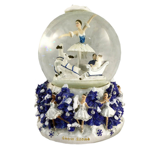 Musical Snow Scene Snow Globe The Nutcracker Music - Nutcracker Ballet Gifts