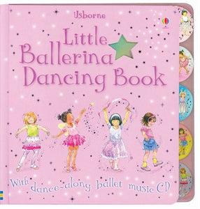 Little Ballerina Dancing CD Along with Dancing Book - Nutcracker Ballet Gifts
