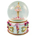 Musical Ballerina in Tutu Snow Globe Turning 100mm - Nutcracker Ballet Gifts