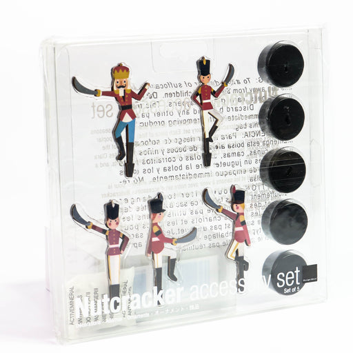 Nutcracker Accessory Set of 5 Nutcracker Soldiers - Nutcracker Ballet Gifts