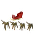 Alpine Moose Set of 4 - Nutcracker Ballet Gifts