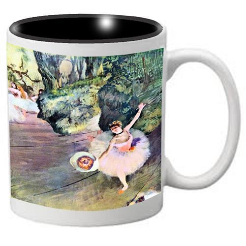 Nutcracker Ballet Mug DG04 Degas The Star of the Show - Nutcracker Ballet Gifts