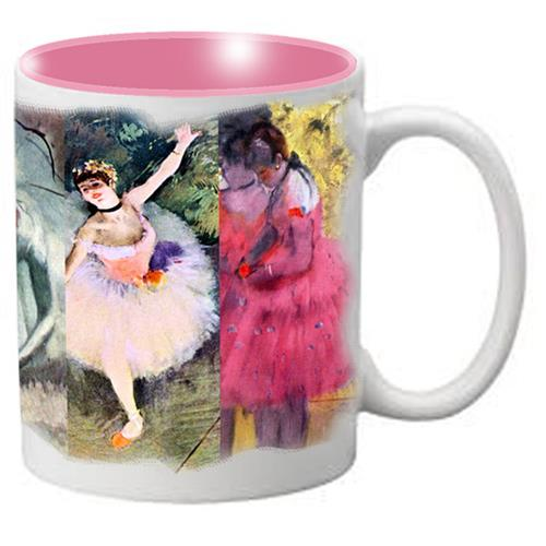 Nutcracker Ballet Mug DGW02 Degas Full Wrap Collage - Nutcracker Ballet Gifts